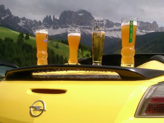 Biertheke in Tiers, Südtirol