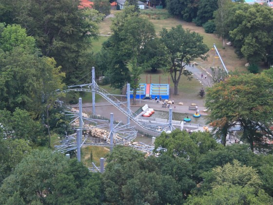 Blick auf den Fun-Park