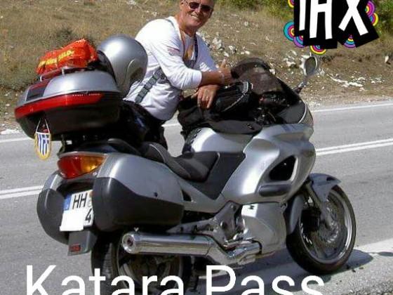mit der Honda in Griechenland Katara Pass über 2000 m