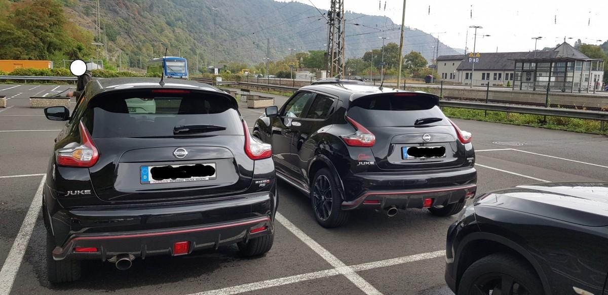 Zufallstreffen auf dem Parkplatz