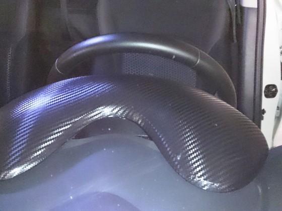 Tachoabdeckung mit Carbon